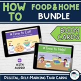 BUNDLE: HOW TO - Food and Home Bundle BOOM CARDS