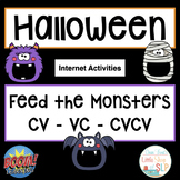 Boom Cards | Halloween | Apraxia | CV VC CVCV Patterns