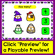 Boom Cards™ Halloween Candy Corn Counting to 10: Click the Correct Answer