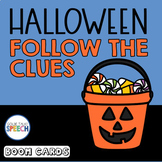 Boom Cards | Halloween Inferencing | ELA | Speech and Language Therapy