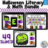 Boom Cards Halloween Math and Litercy Bundle