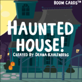 Boom Cards™️ Haunted House!