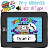 Boom Cards - Hear it! Type it! Fry First 100 - Distant Learning