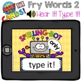 Boom Cards - Hear it! Type it! Fry Second 100 - Distant Learning