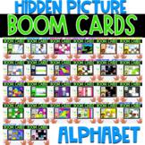 Boom Cards   Hidden Pictures Alphabet
