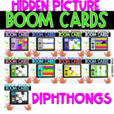 Boom Cards   Hidden Pictures Diphthongs