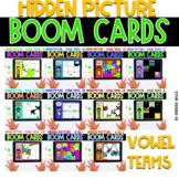 Boom Cards   Hidden Pictures Vowel Teams