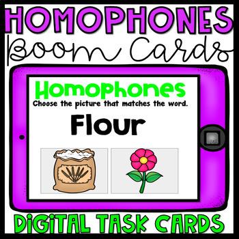 Boom Cards- Homophones