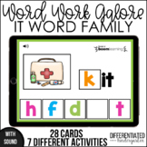 Boom Cards - IT Word Family Distance Learning