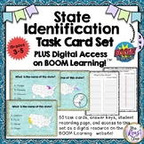 Boom Cards™ Identify the 50 States Task Cards & Digital Ta