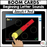 Boom Cards Initial Sounds Search & Find (Digital Task Card