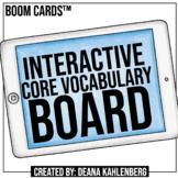 Boom Cards™️ Interactive Core Vocabulary Board