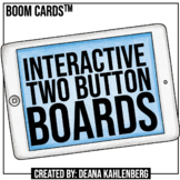 Boom Cards™️ Interactive Two Button Boards