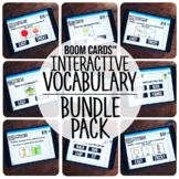 Boom Cards™️ Interactive Vocabulary Bundle Pack