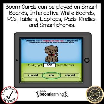 Boom Cards Irregular Past Tense Verbs