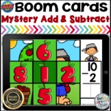 Boom Cards Johnny Appleseed Mystery Picture Addition and S