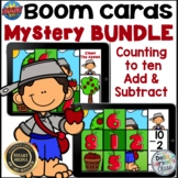 Boom Cards Johnny Appleseed Mystery Picture Math BUNDLE