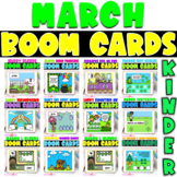 Boom Cards | Kindergarten March Bundle
