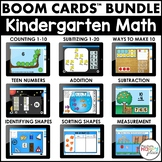 Boom Cards Kindergarten Math Bundle (Digital Task Cards) -