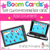 Boom Cards™  Kite Counting (0-10)