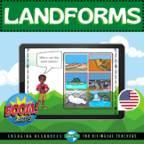 Boom Cards™ LANDFORMS & EARTH'S CHANGES | Distance Learning | STAAR Science Prep