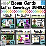 Boom Cards Letter Knowledge Bundle