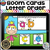 Boom Cards Letter Order