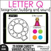 Boom Cards - Letter Q (Recognition, discrimination, letter