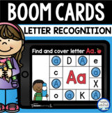 Boom Cards™  Letter Recognition Find & Cover DISTANCE LEAR