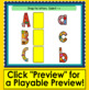Boom Cards™ Letter Recognition Alphabet Match Upper to Lowercase Letters
