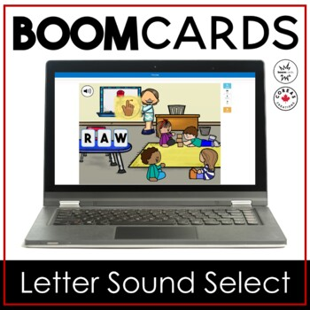 Boom Cards | Letter Sound Select