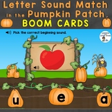 Boom Cards Letter Sounds (Beginning Sounds) Match in the P