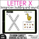 Boom Cards - Letter X (Recognition, discrimination, letter
