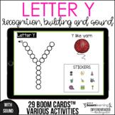 Boom Cards - Letter Y (Recognition, discrimination, letter
