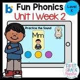Boom Cards Level K Unit 1 Week 2