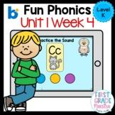 Boom Cards Level K Unit 1 Week 4