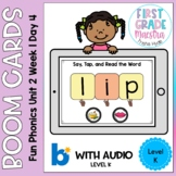 Boom Cards Level K Unit 2 Week 1 Day 4