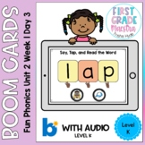 Boom Cards Level K Unit 2 Week 1 Day 5