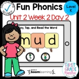 Boom Cards Level K Unit 2 Week 2 Day 2