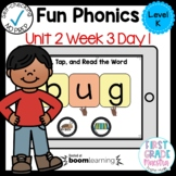 Boom Cards Level K Unit 2 Week 3 Day 1