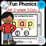 Boom Cards Level K Unit 2 Week 3 Day 2