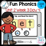 Boom Cards Level K Unit 2 Week 3 Day 4
