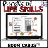 Boom Cards: Functional Life Skills Bundle (Grocery and Laundry Sorting)