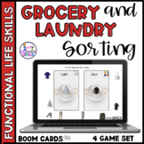Boom Cards: Functional Life Skills- Sorting Laundry