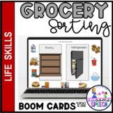 Boom Cards: Functional Life Skills- Sorting Groceries