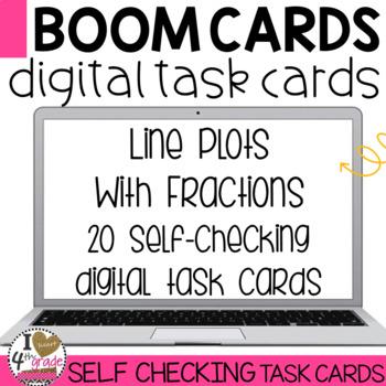 Boom Cards Line Plots
