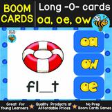 Boom Cards | Long O Cards (oe, ow, oa)