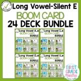 Boom Cards Long Vowel Silent E Bundle