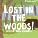 Boom Cards™️ Lost in the Woods!