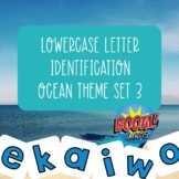 Boom Cards! Lowercase Letter Identification Ocean Theme Deck 3